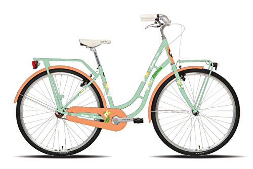 Legnano vélo Flamant Rose Lady 251 Urban 28 Taille 44 1 V Vert (City)/Bicycle Flamant Rose Lady 251 Urban 28 Size 44 1S Green (City)