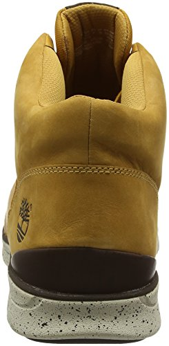Timberland Bradstreet Half Cab, Bottes Classiques homme Beige - Beige (Wheat)