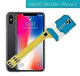 MAGICSIM ELITE pour iPhone X/XS - Adaptateur Dual SIM