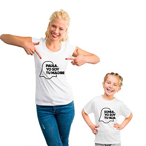 Regalo Personalizable para Madres: Pack de Camiseta para Mamá + Camis