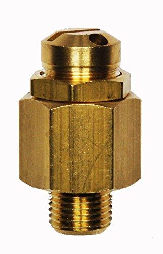 Sicherheitsventil-Mini, Überdruckventil einstellbar 6-12 bar, G1/4