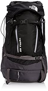 The North Face Terra 65 Backpack - TNF Black/Monument Grey, Small/65 x 35 x 30 cm/64 Litre