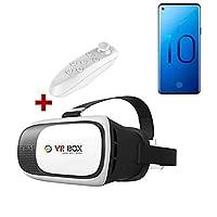 Samsung Galaxy S10 Plus VR BOX 3D Sanal Gerçeklik Gözlüğü Kumandalı