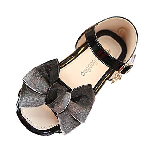 SANFASHION Sandalen Mädchen,Sommer Infant Kinder Baby Bowknot Anhänger Lässige Prinzessin Schuhe Bohemian Sommerschuhe
