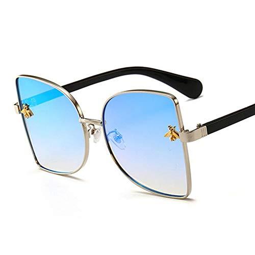 TIANKON Mode Übergröße Sonnenbrille Honey Bee Dekoration Sonnenbrille Frauen Uv400 Gläser,A5d (Dekorationen Bee Honey)