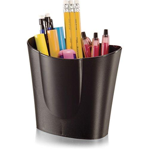 Officemate 26218 Achieva Stifte-Becher, Groß, schwarz