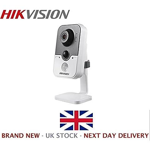 Hikvision Digital Technology DS-2CD2432F-IW - Cámara de vigilancia (IP, Interior y exterior, Cubo, Inalámbrico y alámbrico, MicroSD (TransFlash), MicroSDHC, MicroSDXC, Gris, Color blanco)