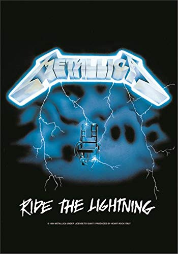 Metallica - Ride The Lightning Flagge