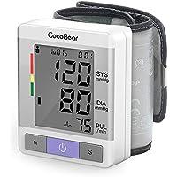 CocoBear Tensiómetro de Muñeca, Tensiómetro Digital de Muñeca Totalmente Automático Presión Arterial y Detección.
