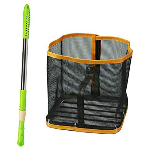 Ping-Pong Ballsammler Retriever Verstellbare Picker Bälle für Outdoor Pingpong Tennissport Sammelt 150 Ball Kapazität -