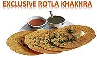 Smart Snacks ROTLA Khakra Healthy Food Khakhara Snacks and Namkeen Khakra by Janvi Food Product Basic Combo Pack of 3-600 Grams Diet Food