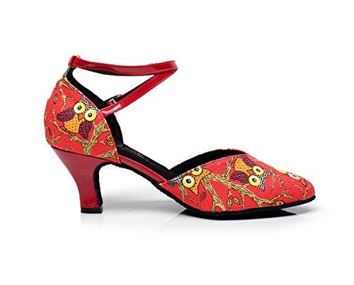 Minitoo, Scarpe da ballo donna Red