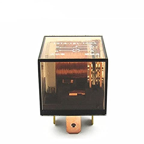 Shenlang Car Relay 5 Pins SPDT 12V 80A Amp Auto