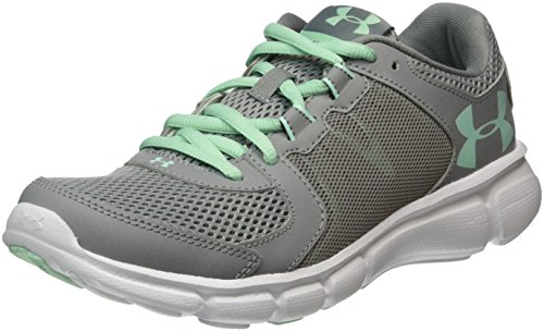 Under Armour Thrill 2 - Scarpe Running Donna, Grigio (Steel), 39 EU