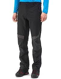 Millet High Tour–Pantalón para hombre, color negro/rojo, tamaño 38