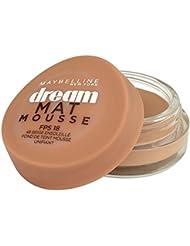 Maybelline New York Dream Mat Mousse - Fond de teint mousse  - 48 beige ensoleillé