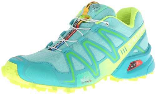 12d24d806d2ee Salomon Speedcross 3 CS L30878700 Damen Sportive Sneakers TürkisGelb ...