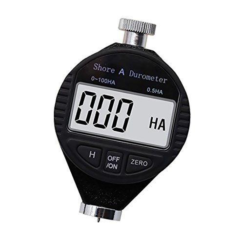 Sharplace Digital Shore Durometer Rubber Hardness Tester Meter LCD Display Type A/C/D - Type A