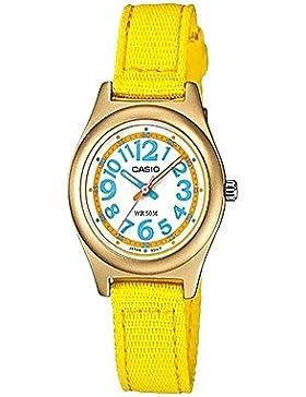Casio Damen-Armbanduhr Analog Quarz Textil LTR-19B-9BVDF