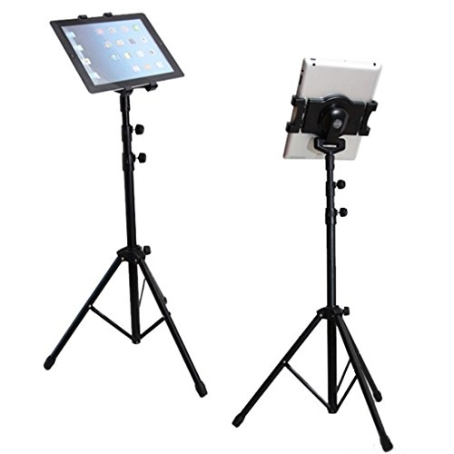 portable-universal-floor-tablet-tripod-mount-stand-with-bracket-holder-adapter-for-all-ipad-samsung-