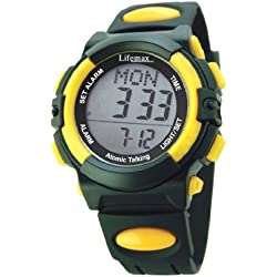 Lifemax Talking Atomic Digital Watch