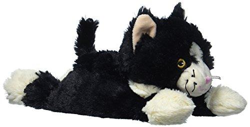 Warmies Katze liegend schwarz Wärmekissen Hirse Lavendelfüllung