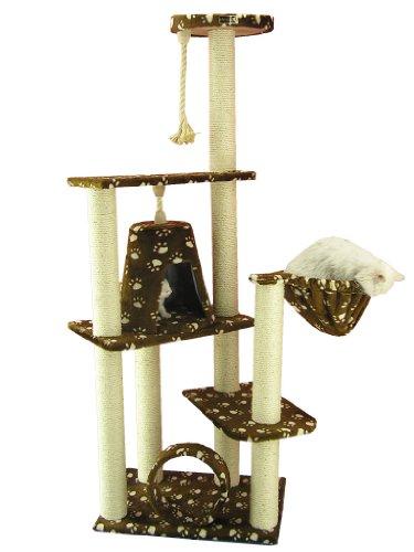 armarkat gato árbol muebles condominio, altura 152,4cm a cm)