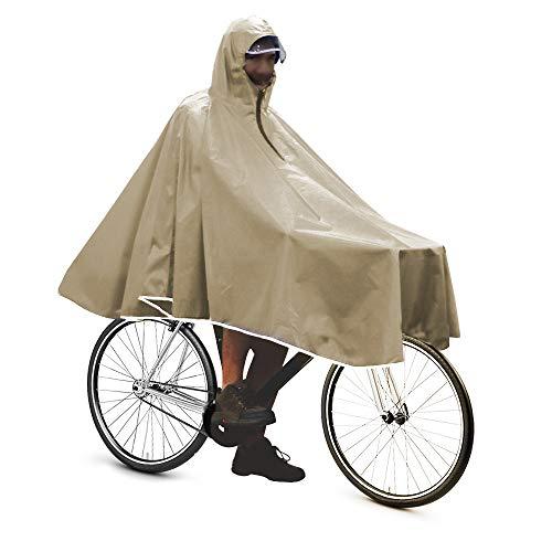 Anyoo wasserdicht Radfahren Capes Portable leichte Regen Poncho Fahrrad kompakt Wiederverwendbare Unisex für Backpacking Camping im Freien