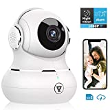 Home Security Camera, Littlelf 1080P WiFi IP Indoor Surveillance Dome Camera With Motion