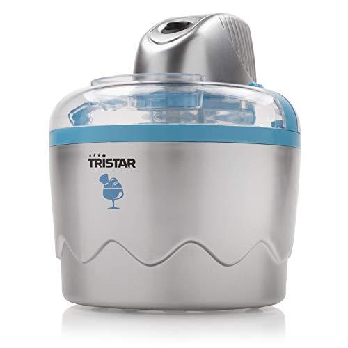 La máquina de helados Tristar YM-2603 es perfecta para hacer los helados más deliciosos en un momento. Elija sus sabores favoritos y haga, por ejemplo, helado suave, sorbete o helado de yogur. Añada los ingredientes a la máquina de helados y di...