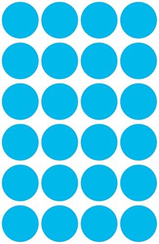 Avery Zweckform 3005LabelOcean (96unidades, diámetro 18mm) 4hojas azul