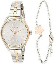 ESPRIT Women's Debi Flower Fashion Quartz Watch - ES1L177M
