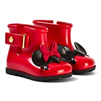 Mini Melissa Red Girls Disney RAIN Boots