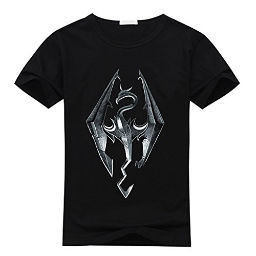 Custom Skyrim Homme's and Femme's Classic 100% Cotton T-Shirt XXX-Large