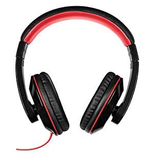 Itek I58005B Dynamic Comfort Padding Bass Headphones - Black
