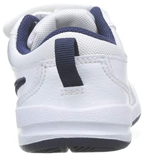 Nike Jungen Pico 4 (TDV) Low-Top, Weiß (White/Midnight Navy), 27 EU