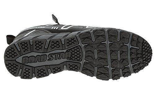 gibra , Chaussures de course pour homme gris foncé