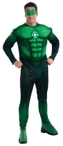 Rubies 3 889986 m - Kostüm DLX Green Lantern Größe ()