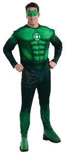 Rubies - Disfraz para adulto Linterna Verde (Rubies Deutschland 889986L)
