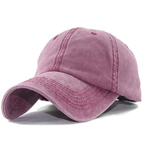 Shaoqingren Der Hut-Frühlings-Cowboy-Hut-Wahrscheinlichkeit der Baseballmütze-Männer der Rapper-Mann-nagelneue Designer-Marke,Rose RED
