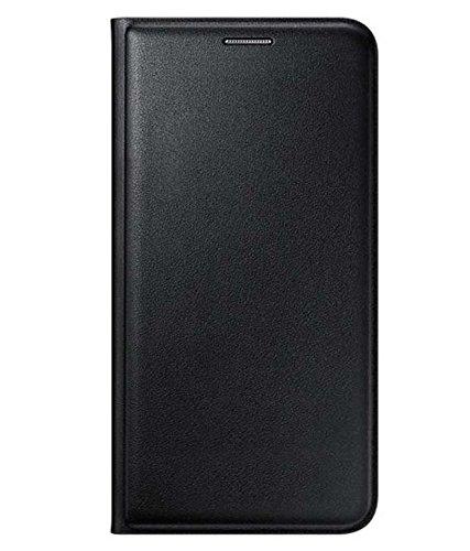 Vibhar Premium Leather Cell Phone Case Mobile Flip Cover for Vivo Y55L – Black
