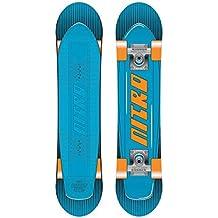 Nitro Snowboards Ripper Kids 15 Snowboard - Tabla de freestyle para snowboarding, color multicolor, talla 116