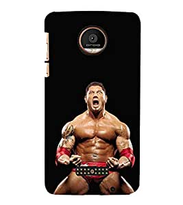 For Coolpad Max fighter man, man, angry man, black background Designer Printed High Quality Smooth Matte Protective Mobile Case Back Pouch Cover by APEX