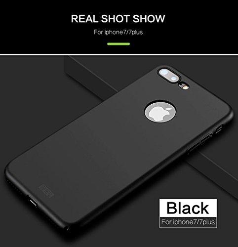 iPhone X Rückseite Hülle - Ultra Dünn Schutzhülle Hart PC Rückseitige Abdeckung Schild für iPhone X Smartphone Rückenschale - Blau Schwarz