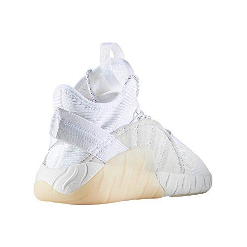 adidas Originals Tubular Rise, BY3555, BY3554, Bianco e Nero. Scarpe da Ginnastica per Uomo. Sneaker Running and Training White/Footwear White