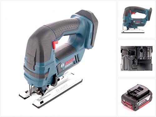 Preisvergleich Produktbild Bosch GST 18 V-Li B Professional Akku Stichsäge Solo mit Einlage L-Boxx ready + 1 x 6Ah Akku