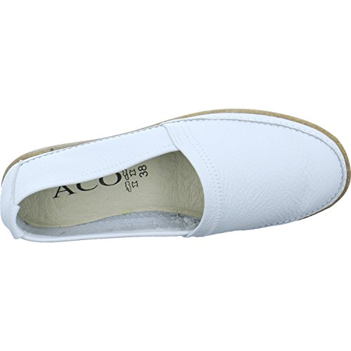 ACO Cindy 04 Damen Slipper Weiß