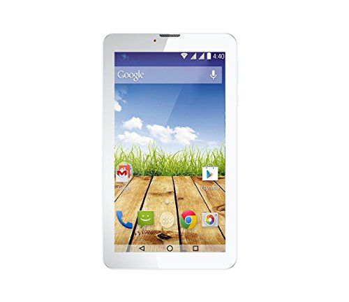 BSNL Penta Legend 73AAQ1 Quad Core,8 GB 7 inch with Wi-Fi+3G Dual SIM (Blue & White) with Free Keyboard worth Rs 1000/-