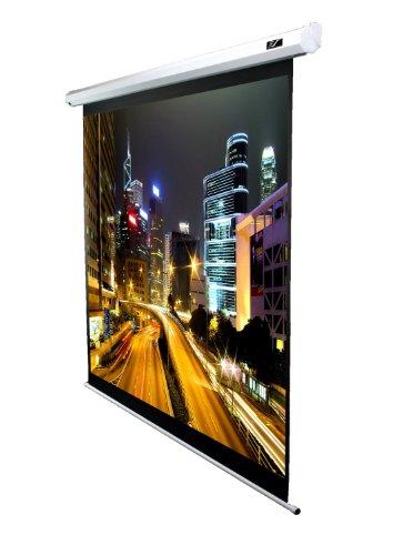 Vmax-serie (Elite Screens VMAX100XWV2 VMAX2 Series Leinwand (Diagonal 254 cm (100 Zoll), Höhe 152,4 cm (60 Zoll), Breite 203,2 cm (80 Zoll), Format 4:3) weiß)