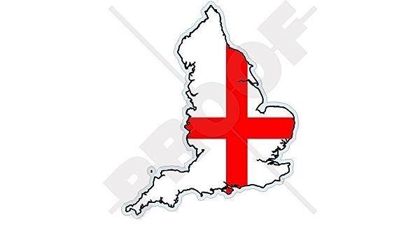 England Englisch Karte Flagge Britisch Uk 123mm Auto Motorrad Aufkleber Vinyl Sticker Garten